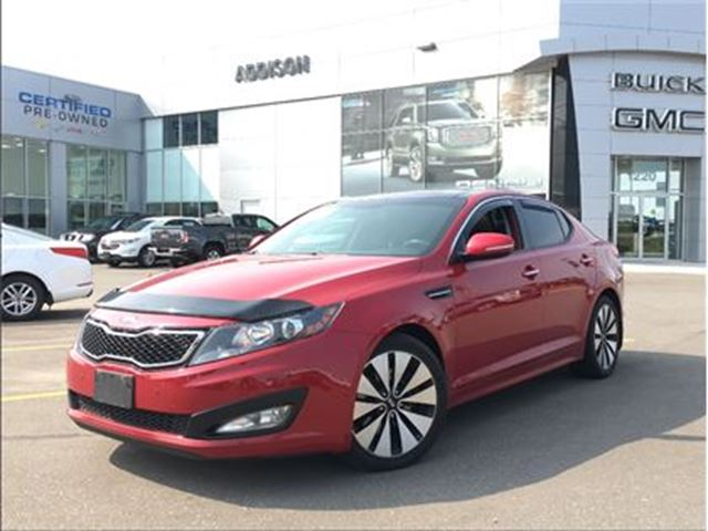 2013 KIA Optima SX Navigation, pano roof in Mississauga, Ontario