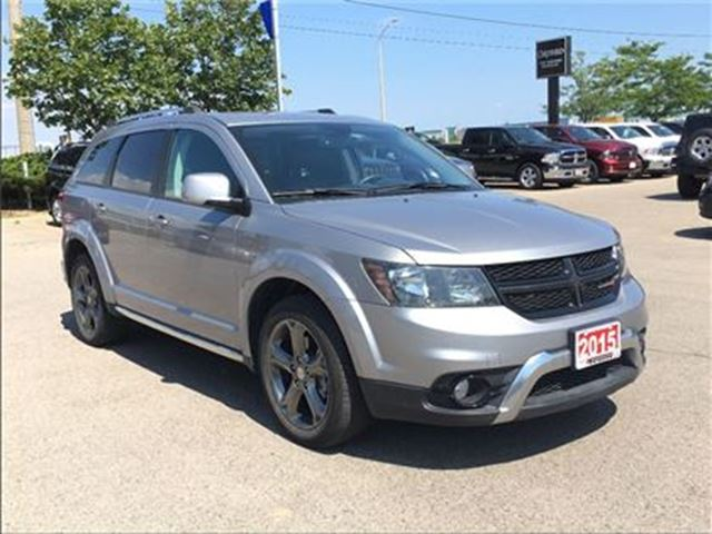 2015 Dodge Journey CROSSROAD**ALL WHEEL DRIVE**7 PASSENGER SEATING** in Mississauga, Ontario