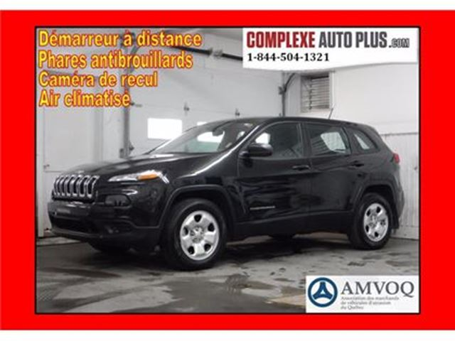 2015 Jeep Cherokee Sport V6 3.2L 4x4 AWD *Camera recul, Bluetooth in Saint-Jerome, Quebec