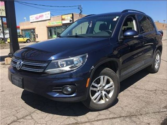 2014 volkswagen tiguan trendline convenience pck alloys auto fwd st catharines ontario car. Black Bedroom Furniture Sets. Home Design Ideas