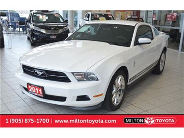 2011 Ford Mustang V6 Coupe, New Tires, Very Low kms in Milton, Ontario