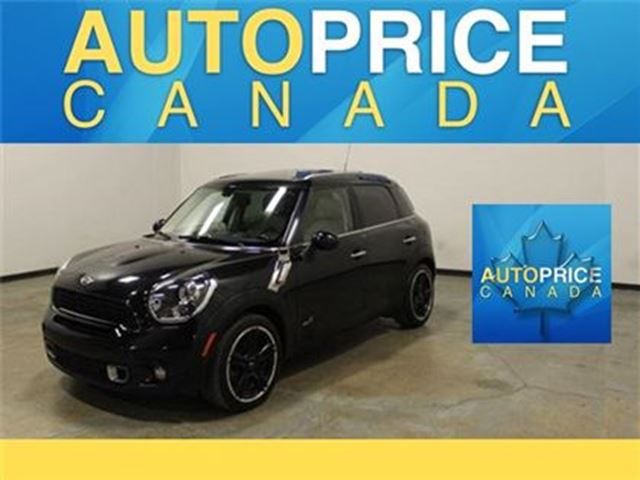 2013 MINI COOPER Countryman S AWD SPRT PKG PANOROOF in Mississauga, Ontario