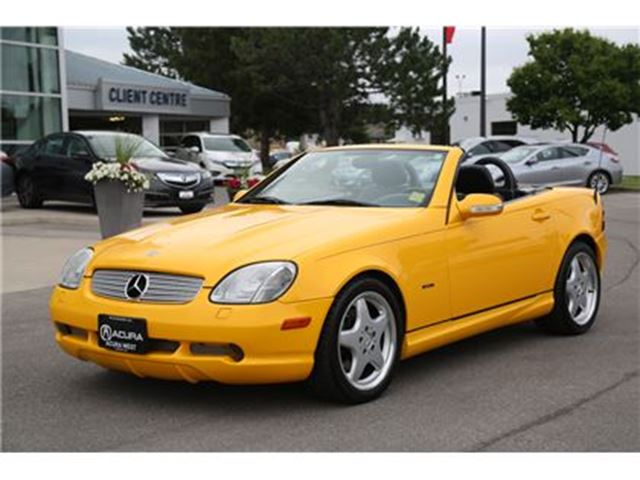 2001 Mercedes-Benz SLK-Class AMG appearance package in London, Ontario