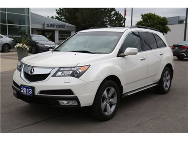 2013 Acura MDX Technology DVD player in London, Ontario