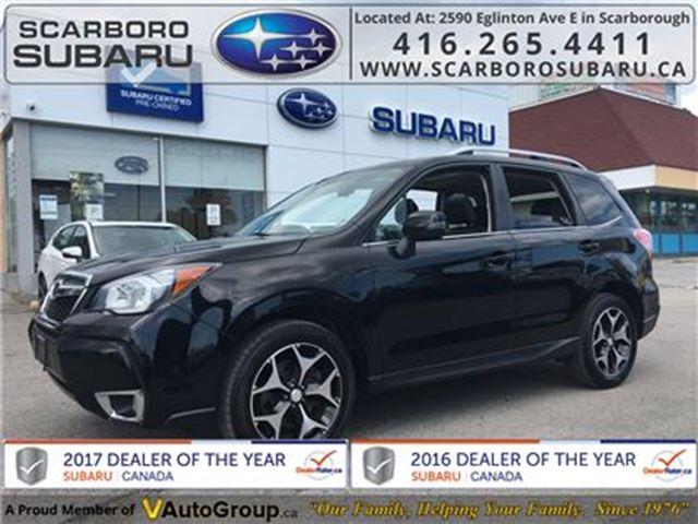 2014 Subaru Forester 2.0XT LTD PKG, FROM 1.9% FINANCING AVAILABLE in Scarborough, Ontario