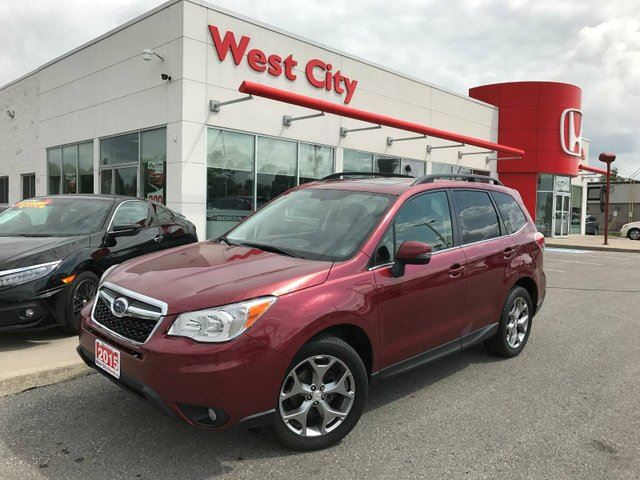 2015 Subaru Forester 2.5i LIMITED,LEATHER,POWER LIFTGATE! in Belleville, Ontario