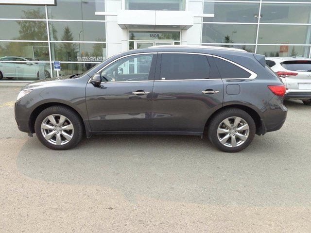 2015 ACURA MDX Elite - B/U Cam, Heated Leather Int + Nav! in Red Deer, Alberta