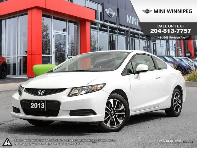 2013 Honda Civic EX Local Car! Remote Starter! in Winnipeg, Manitoba