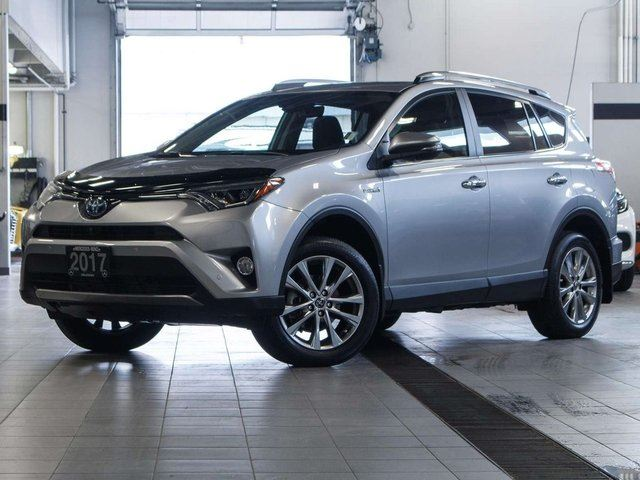 2017 TOYOTA RAV4 HYBRID Limited 4dr All-wheel Drive in Kelowna, British Columbia