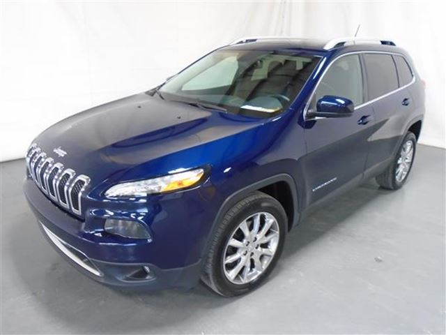 2014 Jeep Cherokee LIMITED CUIR TOIT PANO NAV  in Mascouche, Quebec