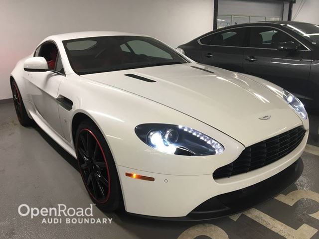 2013 ASTON MARTIN VANTAGE V8 Coupe Sportshift in Vancouver, British Columbia