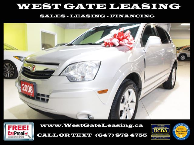 2008 SATURN VUE V6 XR  SAFETY CERTIFIED  in Vaughan, Ontario