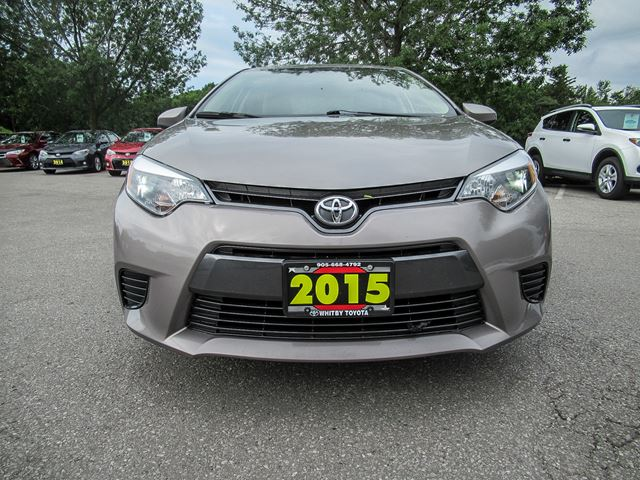 2015 toyota corolla le whitby ontario car for sale 2831934. Black Bedroom Furniture Sets. Home Design Ideas