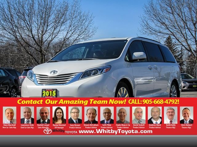 2015 Toyota Sienna Limited in Whitby, Ontario