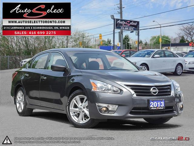 2013 Nissan Altima ONLY 65K! **BACK-UP CAMERA** SUNROOF **SV MDOEL** in Scarborough, Ontario