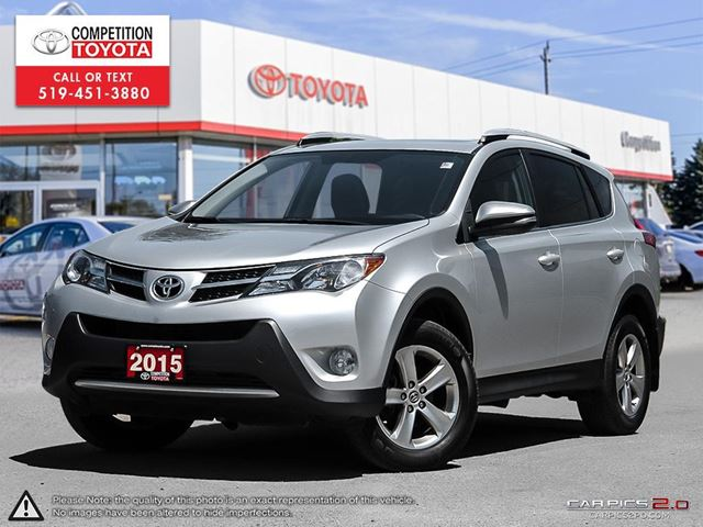 2015 TOYOTA RAV4 XLE One Owner, Toyota Serviced in London, Ontario
