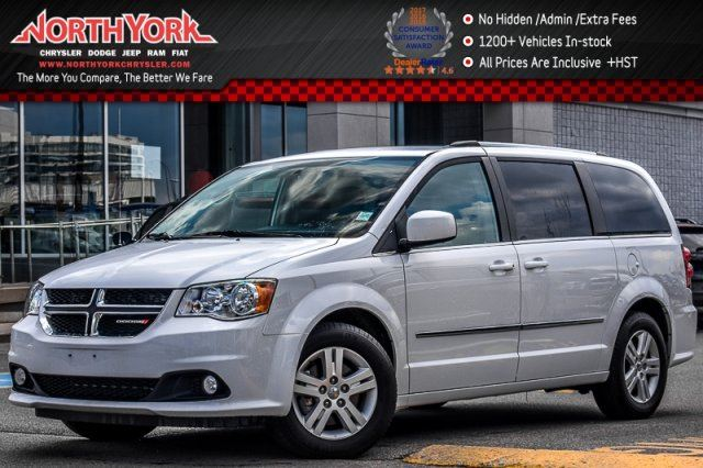 2016 Dodge Grand Caravan Crew+ Security,Driver Convi.Pkgs Nav Leather Power Doors 17Alloys in Thornhill, Ontario