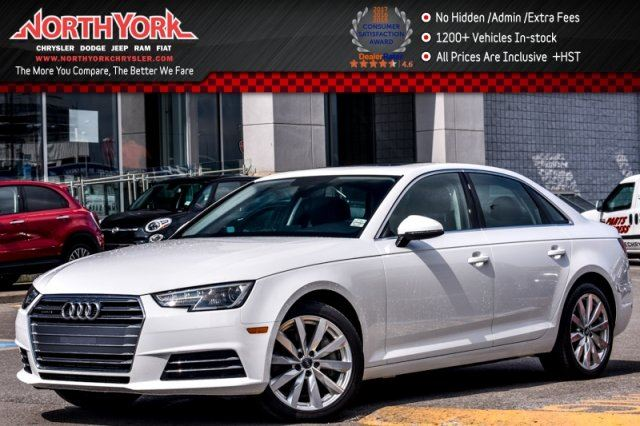 2017 Audi A4 Komfort  Quattro Conven.Pkg Leather Sunroof KeylessGo PkAsst. 18Alloys  in Thornhill, Ontario