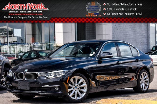 2016 BMW 3 Series 328 i xDrive Sunroof Nav ACCIDENT FREE HTD Frnt Seats 18Alloys in Thornhill, Ontario