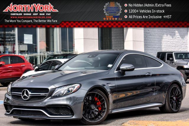 2017 Mercedes-Benz C-Class AMG C 63 S in Thornhill, Ontario