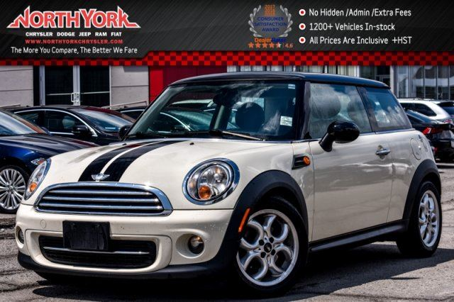 2012 MINI COOPER BASE Pano_Sunroof Bluetooth HeatedFrSeats 16Alloys  in Thornhill, Ontario