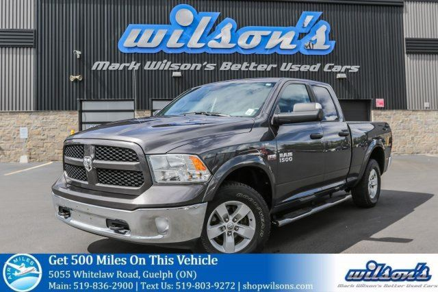 2017 Dodge RAM 1500 OUTDOORSMAN 4WD! $123/wk, 5.89% ZERO DOWN! REAR CAMERA! RUNNING BOARDS! BED LINER! in Guelph, Ontario