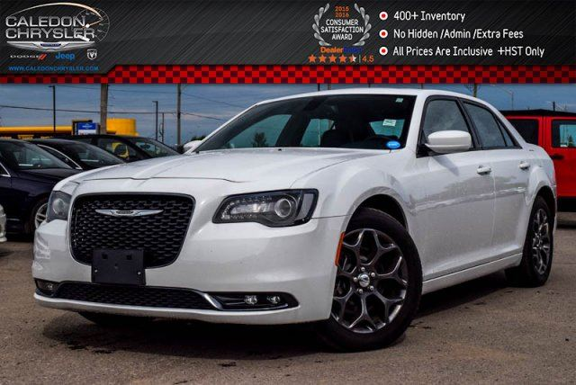 2016 CHRYSLER 300 S AWD Navi Pano Sunroof Backup Cam Bluetooth R-Start 19Alloy Rims in Bolton, Ontario