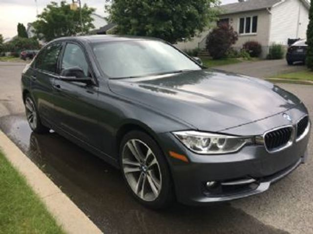 2015 BMW 3 SERIES 328i xDrive Sport Premium Connect Excess wear Protection in Mississauga, Ontario