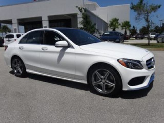 2015 Mercedes-Benz C-Class C300 4MATIC LOADED in Mississauga, Ontario