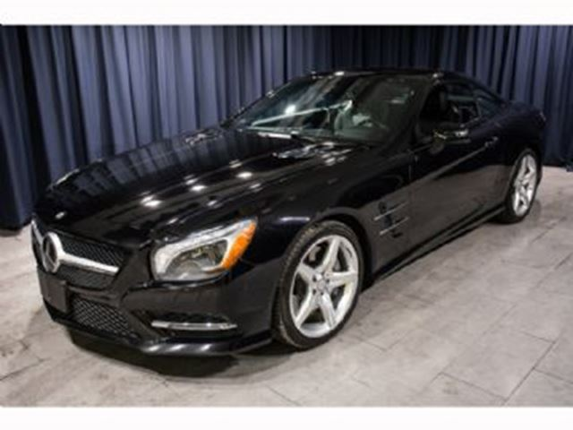 2013 Mercedes-Benz SL-Class 550 AMG Pack 3Yr Extended Warranty in Mississauga, Ontario
