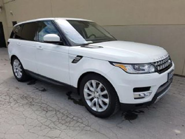 2016 LAND ROVER RANGE ROVER Sport HSE TD6 PREM, CONV AND DRIVER TECH in Mississauga, Ontario