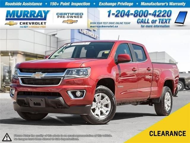 2015 CHEVROLET COLORADO 4WD LT in Winnipeg, Manitoba