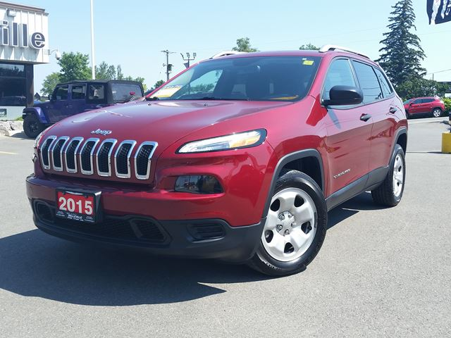 2015 JEEP CHEROKEE one owner - heated seats - remote start - bluetooth in Belleville, Ontario