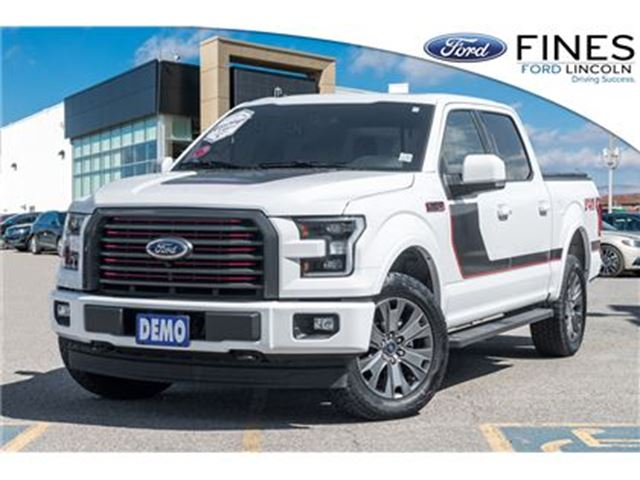 2017 Ford F-150 Lariat - SPECIAL EDITION, DEALER DEMO! in Bolton, Ontario