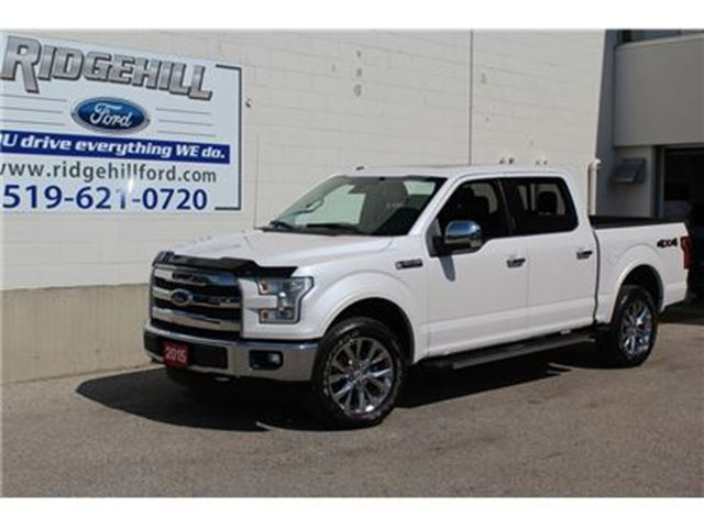 2015 FORD F-150 Lariat  LEATHER  NAVIGATION  PANO ROOF in Cambridge, Ontario