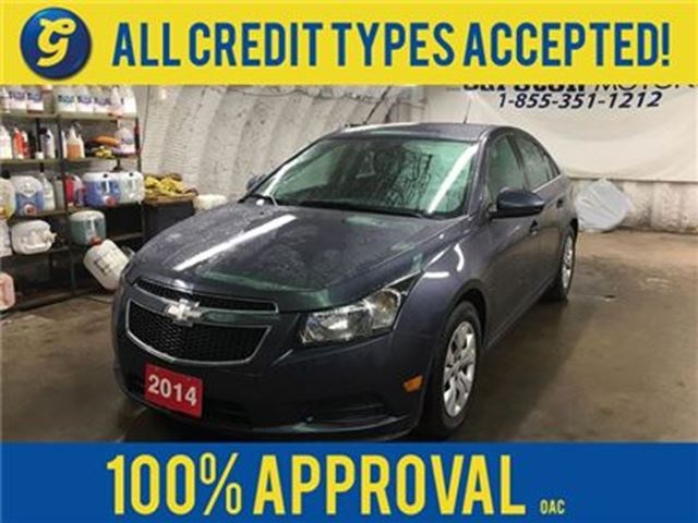 2014 CHEVROLET CRUZE LT*TURBO*PHONE CONNECT*KEYLESS ENTRY*POWER WINDOWS in Cambridge, Ontario