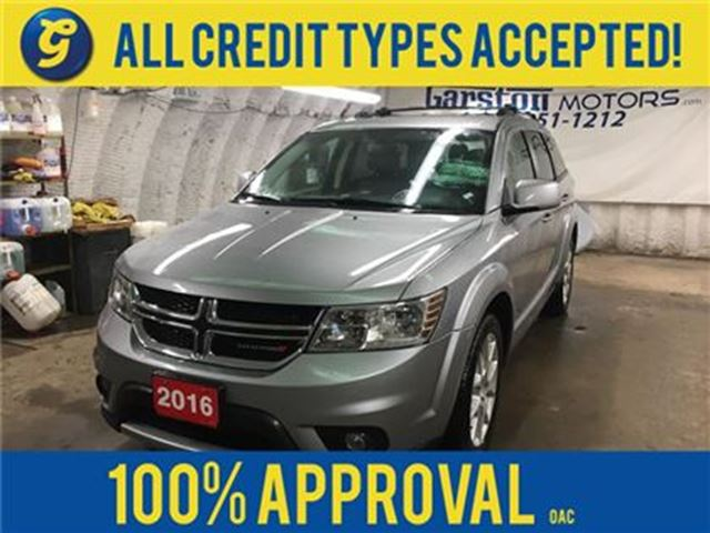 2016 DODGE JOURNEY R/T*AWD*7 Passenger*Leather Trimmed Bucket Seats*A in Cambridge, Ontario