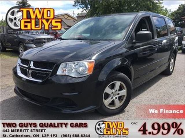 2011 Dodge Grand Caravan SE/SXT NAVIGATION DVD BACK UP CAMERA in St Catharines, Ontario