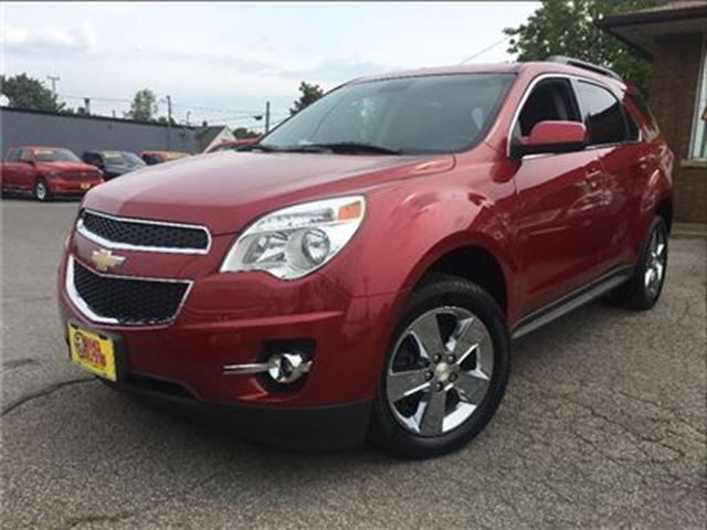 2013 CHEVROLET EQUINOX 1LT BACK UP CAMERA HEATED FRONT SEATS in St Catharines, Ontario
