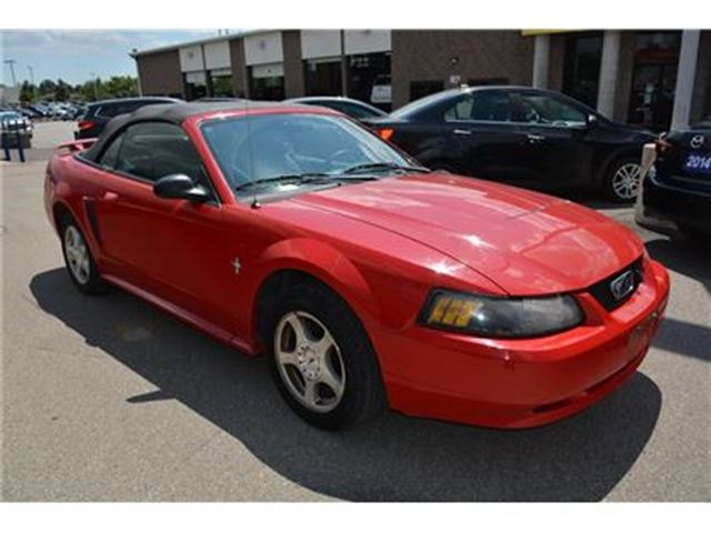 2003 Ford Mustang DELUXE COUPE/LEATHER/ALLOY RIMS in Milton, Ontario