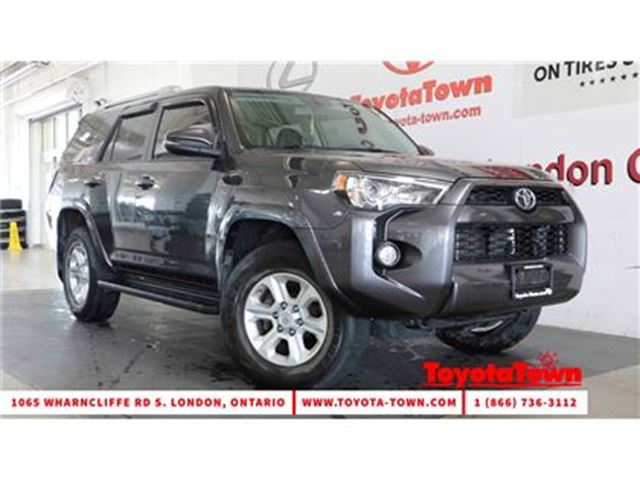 2014 Toyota 4Runner SR5 UPGRADE LEATHER & NAVIGATION in London, Ontario