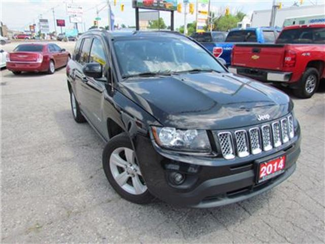 2014 Jeep Compass NORTH EDITION   LEATHER   ALLOYS in London, Ontario