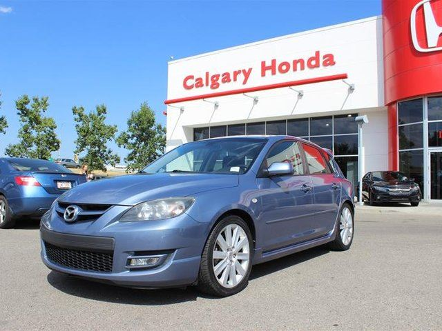 2008 MAZDA MAZDA3 MazdaSpeed 2.3L DISI Turbo 6sp in Calgary, Alberta