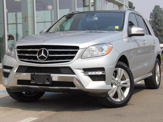 2012 MERCEDES-BENZ M-CLASS ML 350 4dr All-wheel Drive 4MATIC in Kamloops, British Columbia