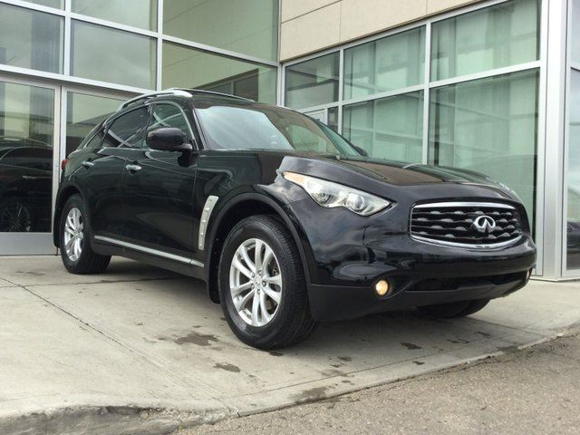 2010 INFINITI FX35 HEATED AND COOLED SEATS/BACK UP MONITOR/SUNROOF/LEATHER INTERIOR in Edmonton, Alberta