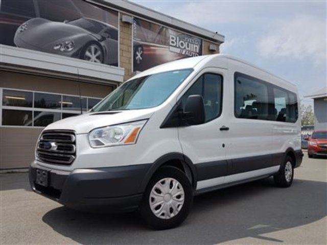 2015 Ford Transit Van XLT 15 passagers, 40276km in Sainte-Marie, Quebec