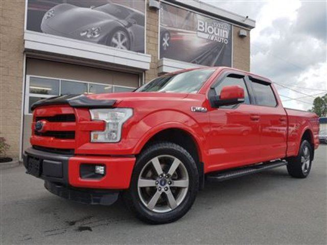 2015 Ford F-150 Lariat, 20'', 5.0L, Toit pano, 502A in Sainte-Marie, Quebec