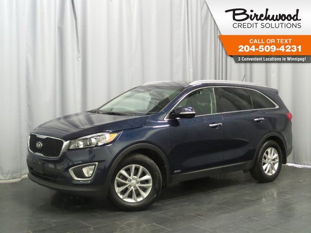 2016 Kia Sorento 2.0L Turbo LX+ *BLUETOOTH/ HEATED SEATS/ AWD* in Winnipeg, Manitoba