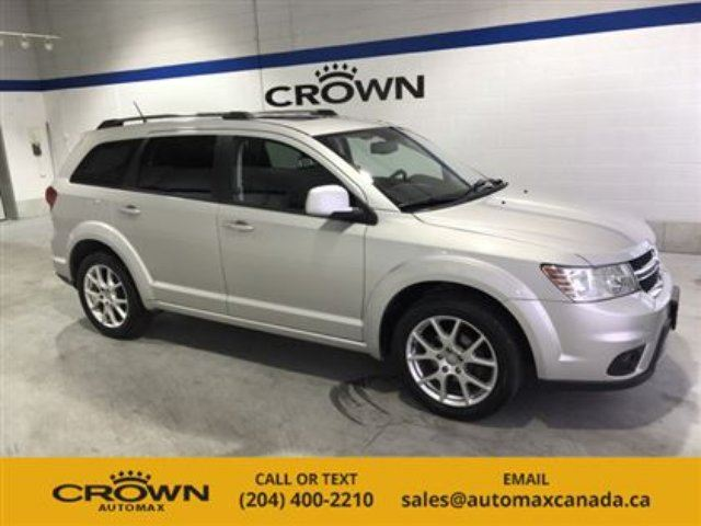 2011 Dodge Journey FWD 4dr SXT in Winnipeg, Manitoba