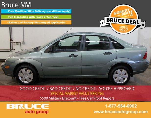 2006 Ford Focus SE 2.0L 4 CYL AUTOMATIC FWD 4D SEDAN in Middleton, Nova Scotia